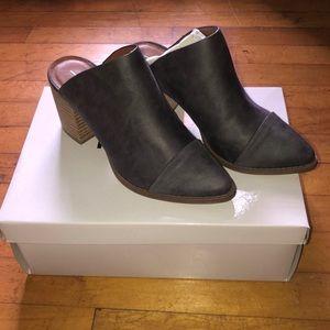 New in box! Report heeled booties